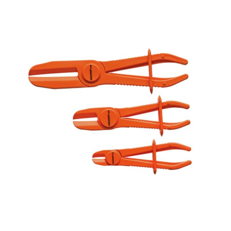 3301539 Σετ τσιμπίδων σύνθλιψης εύκαμπτων σωλήνων διάμ 0-60mm 3τμχ GEDORE RED