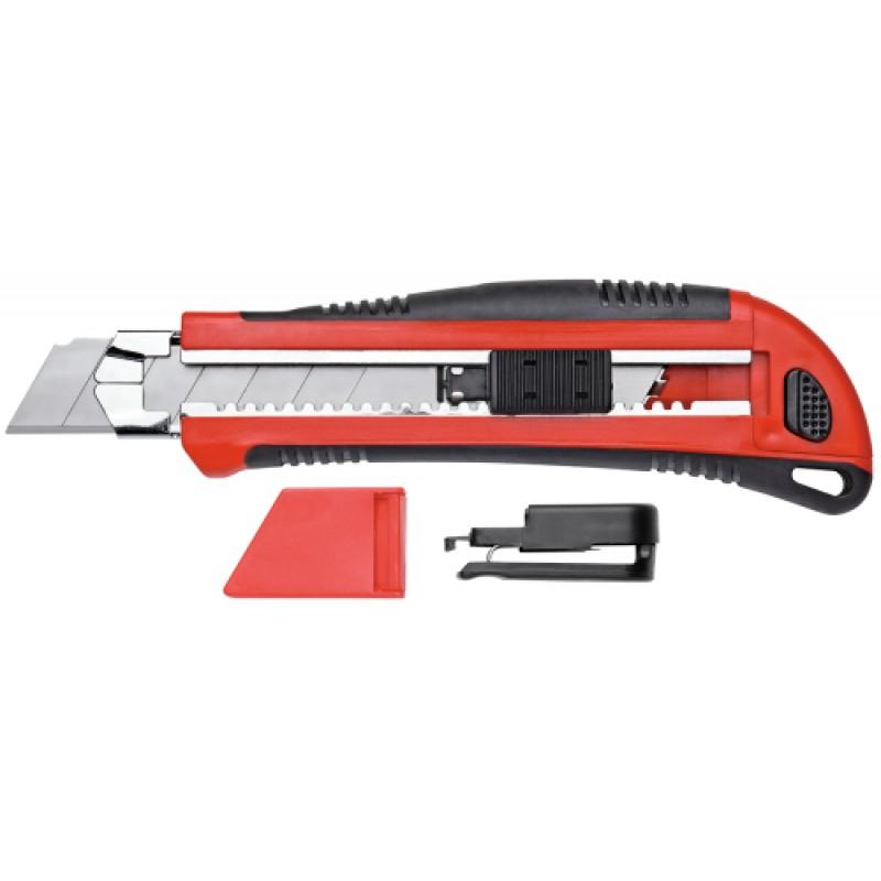 3301605 Μαχαίρι γεν.χρήσης με 5 λάμες - Πλ.25mm με ξύστρα GEDORE RED