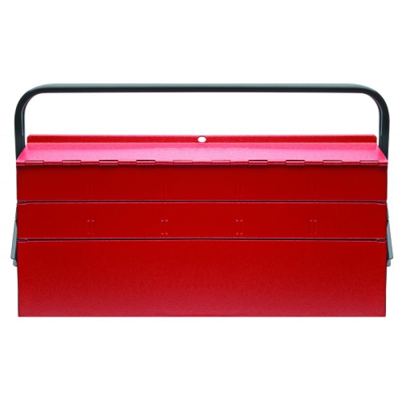 3301658 Βαλιτσάκι εργαλείων με 5 θήκες 535x260x210mm GEDORE RED