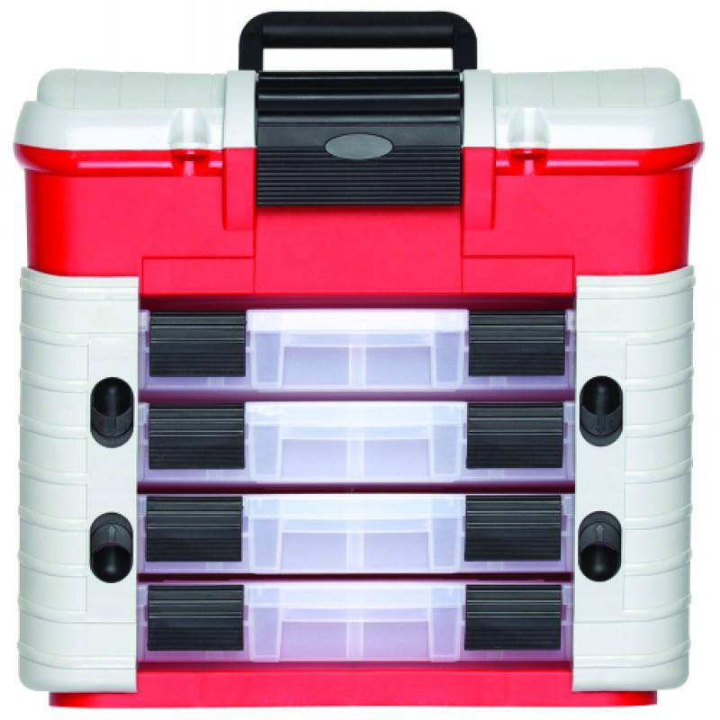 3301659 Κουτί εργαλείων 420x303x400mm ικαν. φορτίου 150kg GEDORE RED