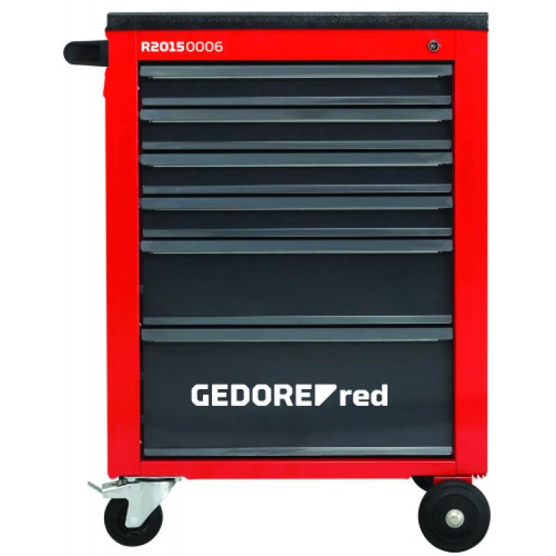 3301663 Εργαλειοφορέας συνεργ. MECHANIC με 6 συρτ. 910x628x418 GEDORE RED