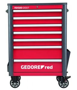 3301690 Εργαλειοφορέας συνεργ. WINGMAN με 7 συρτ. 1034x724x470 GEDORE RED