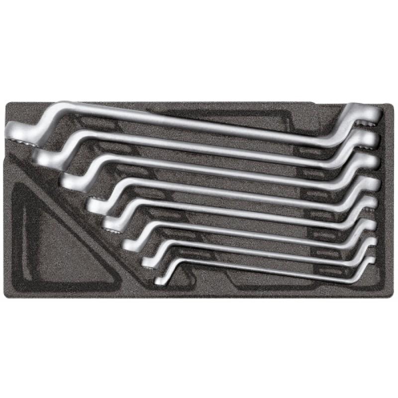 3301697 Σετ διπλών πολύγωνων κλειδιών σε μονάδα 2/6 CT, 8τμχ GEDORE RED