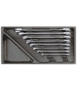 3301698 Σετ διπλών γερμανικών κλειδιών σε μονάδα 2/6 CT, 8τμχ GEDORE RED