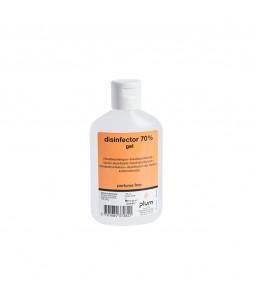 3728 Disinfector 70% Gel Απολυμαντικό Χεριών 120 ml Μπουκάλι PLUM