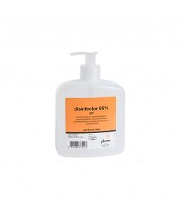3754 Disinfector 85% Gel Απολυμαντικό Χεριών 500 ml Μπουκάλι με Αντλία PLUM