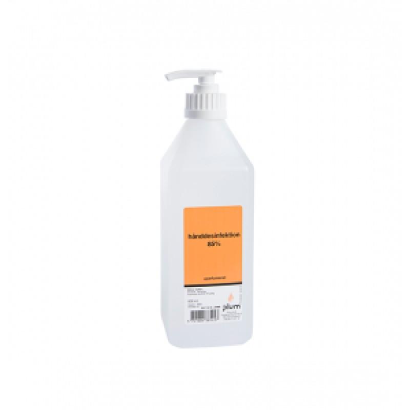 3852 Disinfector 85% Liquid Απολυμαντικό Χεριών 500 ml Μπουκάλι με Αντλία PLUM
