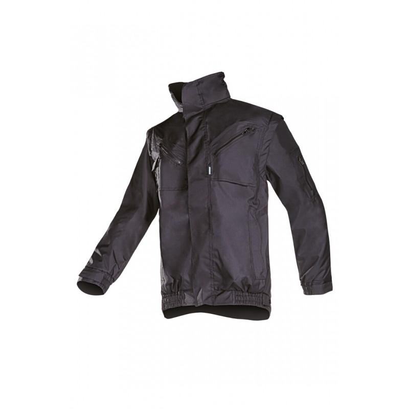 Tempa Χειμερινό μπουφάν με αποσπώμενα μανίκια Μαύρο SIOEN