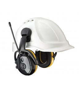 SECURE 2C REACT (AM/FM Radio+LD) Ωτοασπίδα με ραδιόφωνο και μικρόφωνα HELLBERG