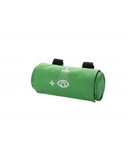4692 Τσαντάκι Ζώνης για 200 ml Μπουκάλι με velcro Κλείσιμο και Σύμβολο Πλύσης Ματιών PLUM