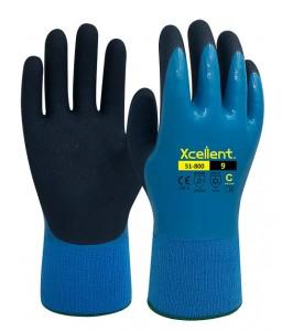 51-800 Γάντια αδιάβροχα ψύχους υψηλής μηχανικής αντοχής XCELLENT