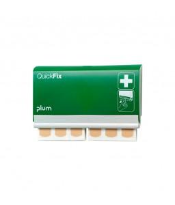 5501 QuickFix Plaster Dispenser Διανομέας με 2 x 45 Αδιάβροχα Έμπλαστρα PLUM