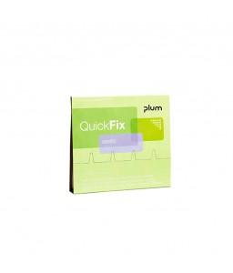 5512 QuickFix Αναπληρώσεις Κάρτα Αναπλήρωσης 45 Ελαστικού Υφάσματος Έμπλαστρα PLUM