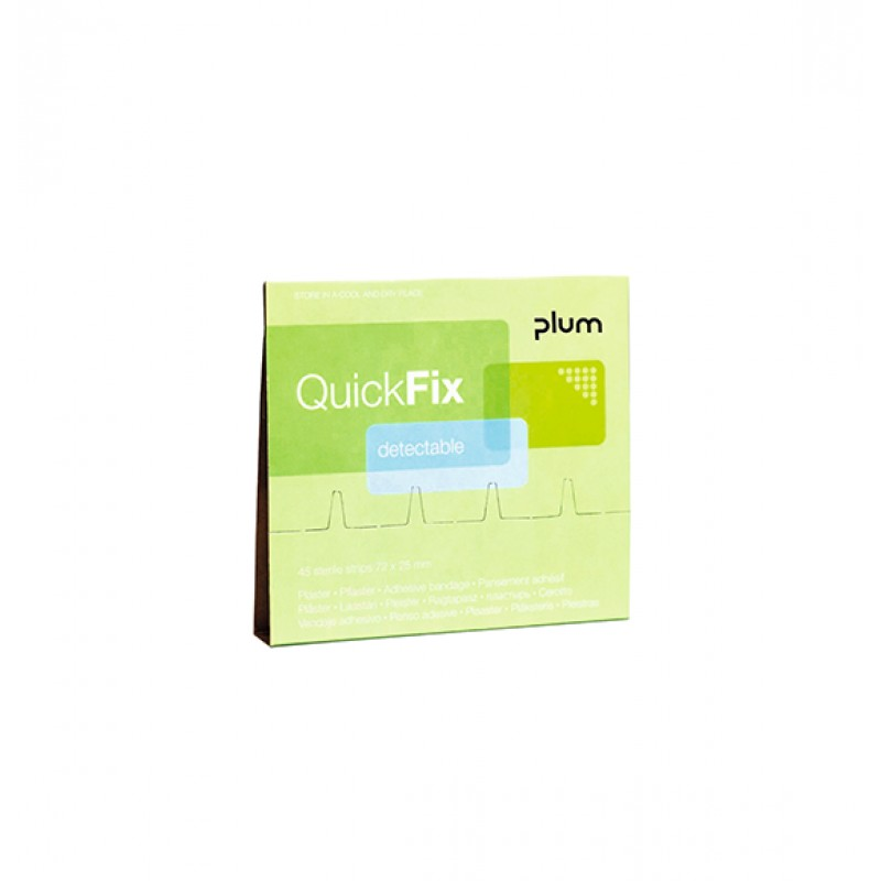 5513 QuickFix Αναπληρώσεις Κάρτα Αναπλήρωσης 45 Ανιχνεύσιμα , από ανιχνευτές Μετάλλων, Έμπλαστρα PLUM