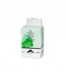5550 QuickClean Πανάκια Καθαρισμού Πληγών Κουτί Διανομέα με 40 Πανάκια Καθαρισμού Πληγών και Συσκευή Ανάρτησης σε Τοίχο PLUM