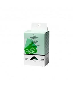 5551 Refill για QuickClean Wound Cleanser Dispenser Αναπλήρωσης Κουτί με 40 Πανάκια Καθαρισμού Πληγών PLUM