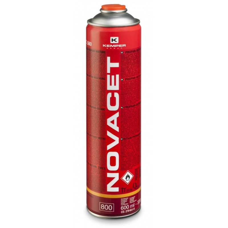 580 Φιάλη NOVACET κόκκινη KEMPER