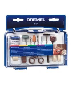 687 σετ πολλαπλής χρήσης 52 τεμ. DREMEL
