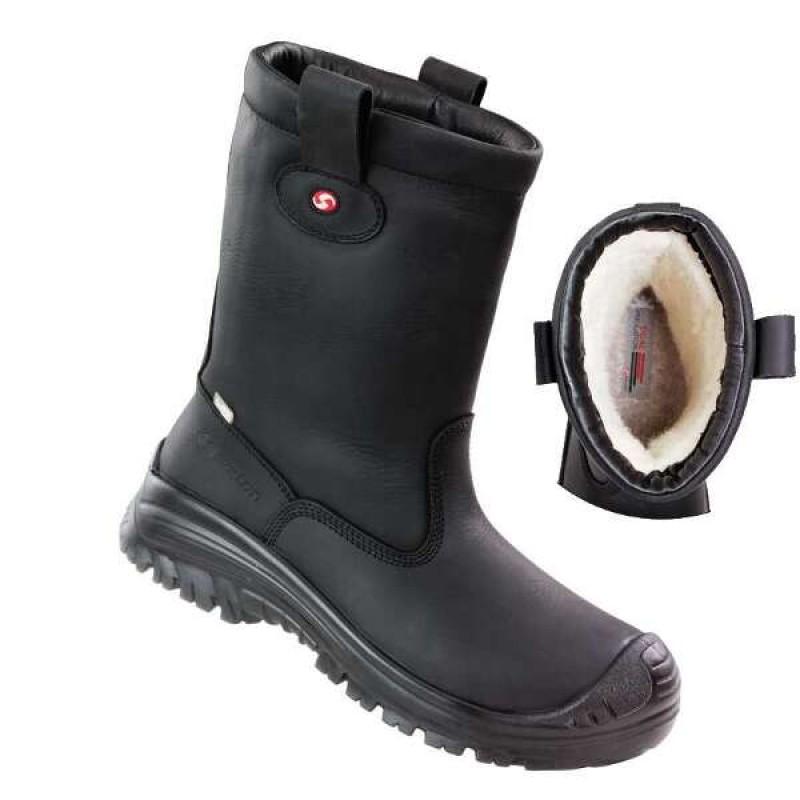 MONTANA Outdry® παπούτσια εργασίας μαύρα με προδιαγραφές S3 WR CI SRC SIXTON