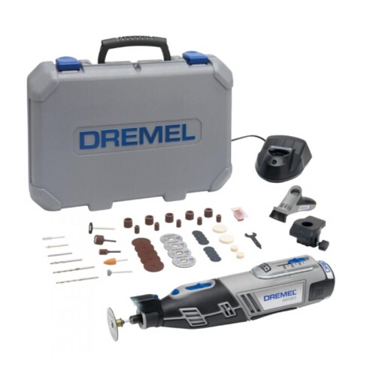 8220-2/45 Πολυεργαλείο μπαταρίας Li 12V με 45 εξαρτήματα και 2 προσαρτήματα DREMEL