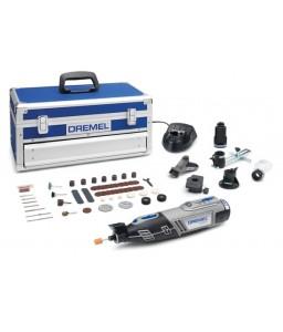 8220-5/65 Πολυεργαλείο μπαταρίας Li 12V με 65 εξαρτήματα και 5 προσαρτήματα, 2 μπαταρίες. PLATINUM EDITION DREMEL