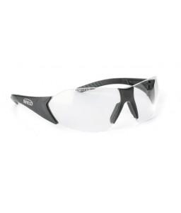 9020 105 Γυαλιά Ασφαλείας Διαφανή Αντιχαρακτικά FLEXOR BLACK PC AS UV
