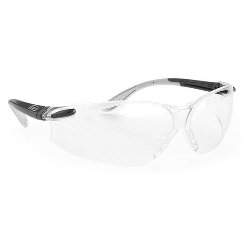9042 105 Γυαλιά Ασφαλείας Διαφανή Αντιχαρακτικά SPIDOR GREY-BLACK PC AS UV