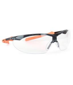 9070 105 Γυαλιά Ασφαλείας Διαφανή Αντιχαρακτικά WINDOR BLACK/ORANGE PC AS UV