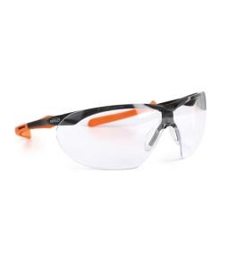 9071 155 Γυαλιά Ασφαλείας Διαφανή Αντιαντιθαμβωτικά WINDOR XL BLACK/ORANGE PC AF UV