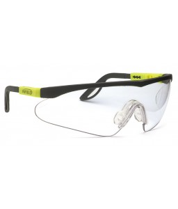 9211 155 Γυαλιά Ασφαλείας Διαφανή Αντιαντιθαμβωτικά ALLIGATOR YELLOW-BLACK PC AF UV