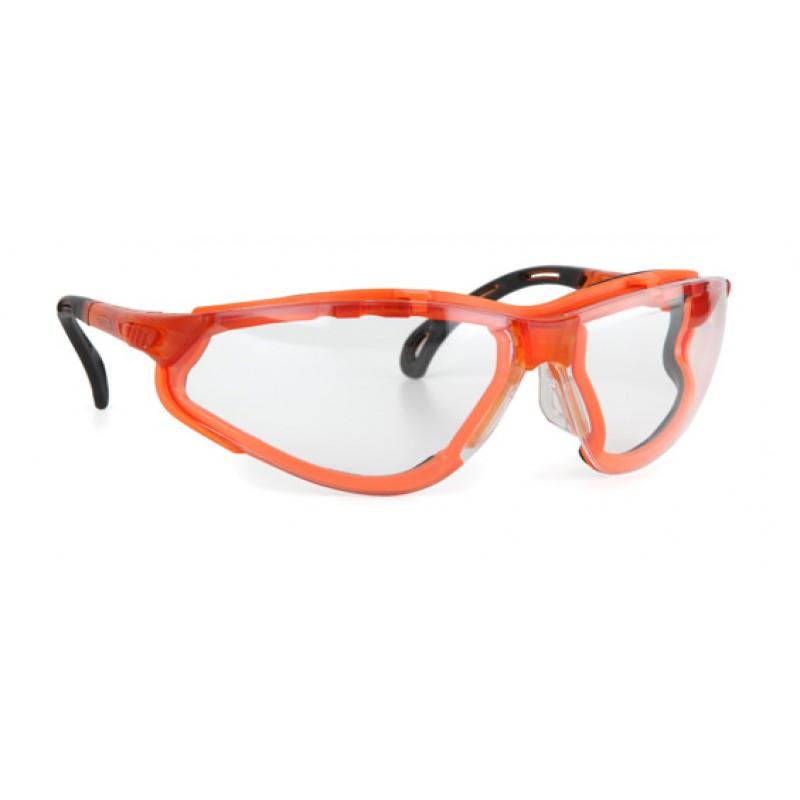 9321 155 Γυαλιά Ασφαλείας Διαφανή Αντιαντιθαμβωτικά TERMINATOR XTRA ORANGE PC AF UV