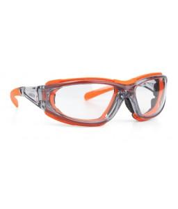 9351 006 Γυαλιά Ασφαλείας Διαφανή Αντιαντιθαμβωτικά MIRADOR CRYSTAL ORANGE PC AFP UV