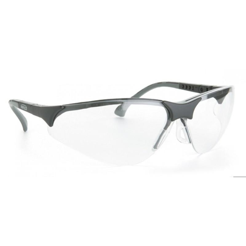 9380 105 Γυαλιά Ασφαλείας Διαφανή Αντιχαρακτικά TERMINATOR BLACK PC AS UV