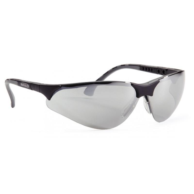 9380 140 Γυαλιά Ασφαλείας Διαφανή Αντιαντιθαμβωτικά TERMINATOR BLACK PC SP AS UV SILVERMIRROR