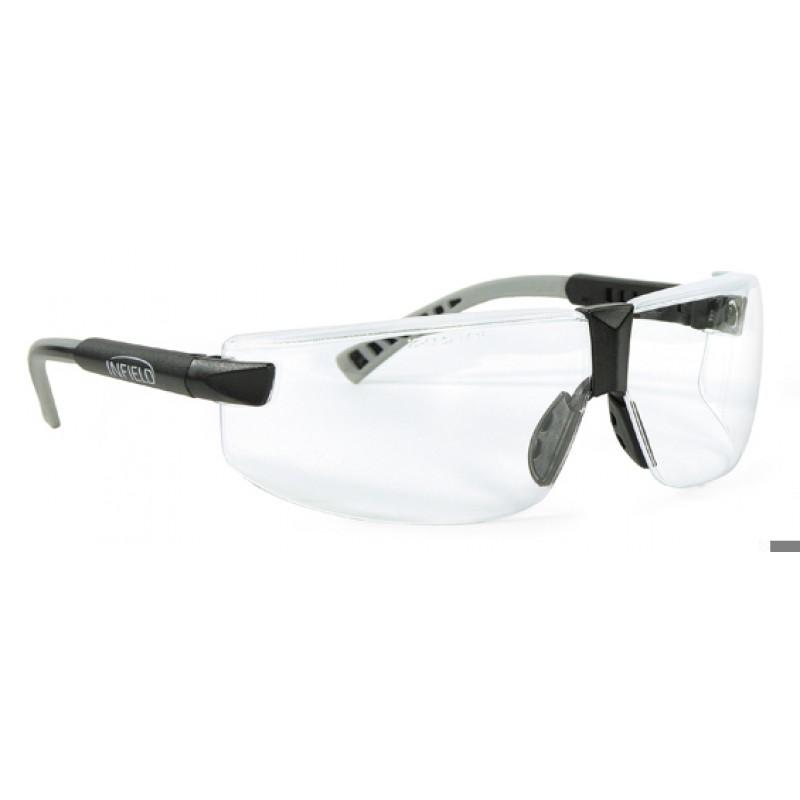 9390 006 Γυαλιά Ασφαλείας Διαφανή Αντιαντιθαμβωτικά EXOR BLACK PC AFP UV