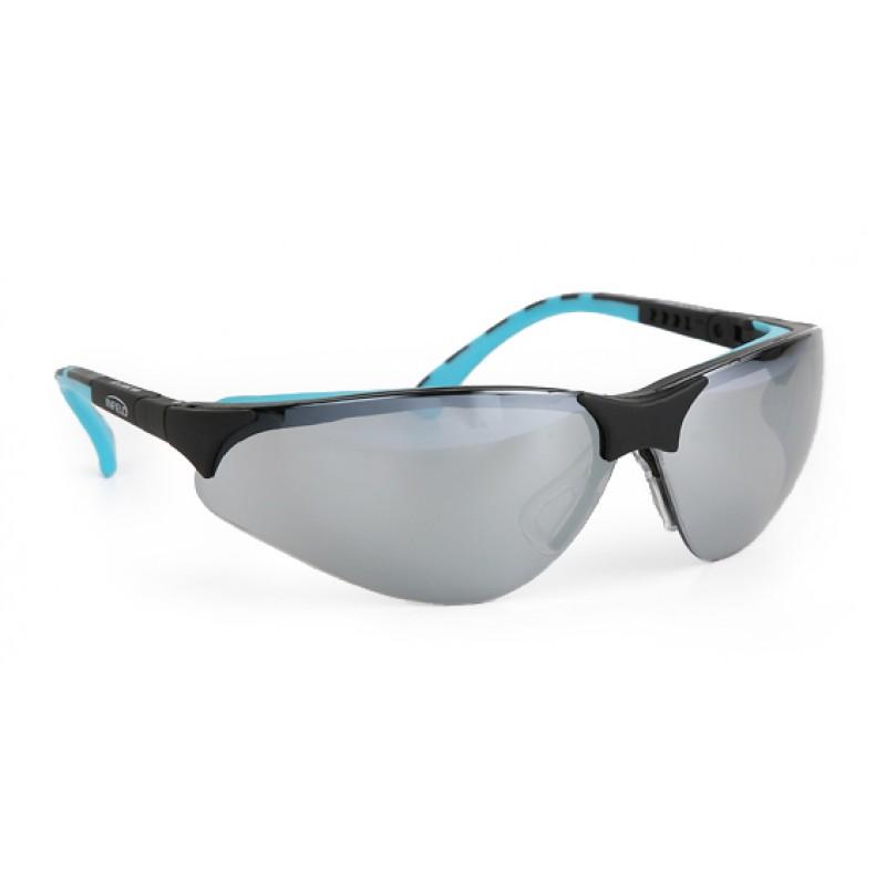 9395 140 Γυαλιά Ασφαλείας Διαφανή Αντιαντιθαμβωτικά TERMINATORPLUS BLACK -MINT PC SP AS UV SILVERMIRROR
