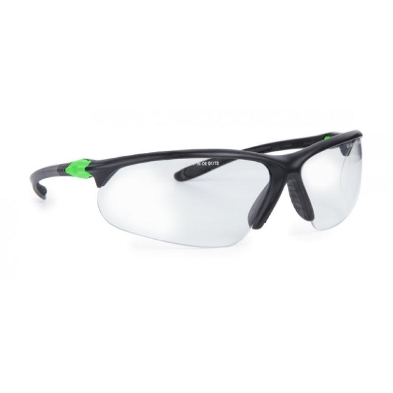 9451 155 Γυαλιά Ασφαλείας Διαφανή Αντιαντιθαμβωτικά VARIOR BLACK-GREEN PC AF UV