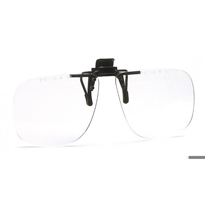9510 105 Γυαλιά Ασφαλείας Διαφανή Αντιχαρακτικά CLIPTOR PC AS UV
