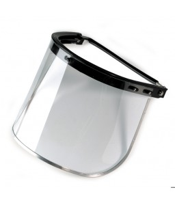 9525 111 Γυαλιά Ασφαλείας Προσωπίδα HECTOR: HELMET ATTACHMENT ABS + VISOR PC UV 1 MM