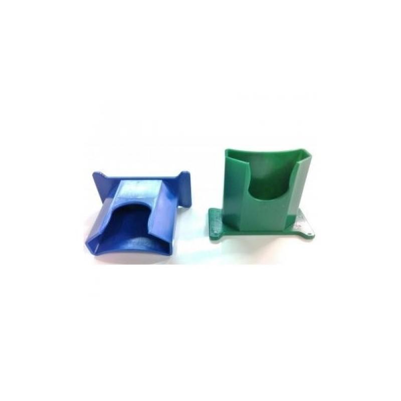 956431 Συσκευή Ανάρτησης σε Τοίχο Μπλέ για 200 ml και500 ml Μπουκάλια με Μονό κύπελο Ματιού PLUM