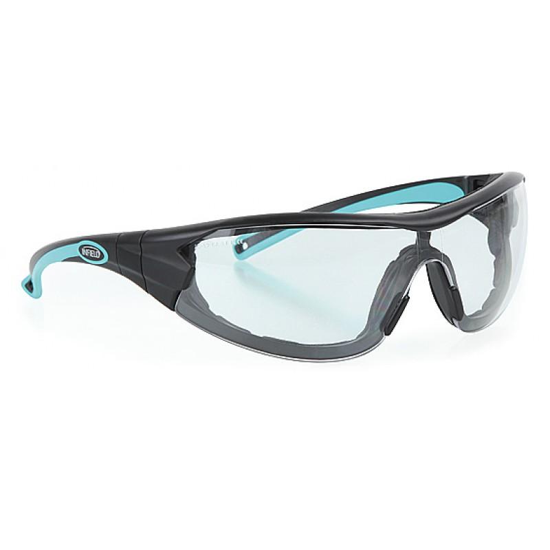 9600 155 Γυαλιά Ασφαλείας Διαφανή Αντιαντιθαμβωτικά VELOR ANTHRACITE-MINT PC AF UV