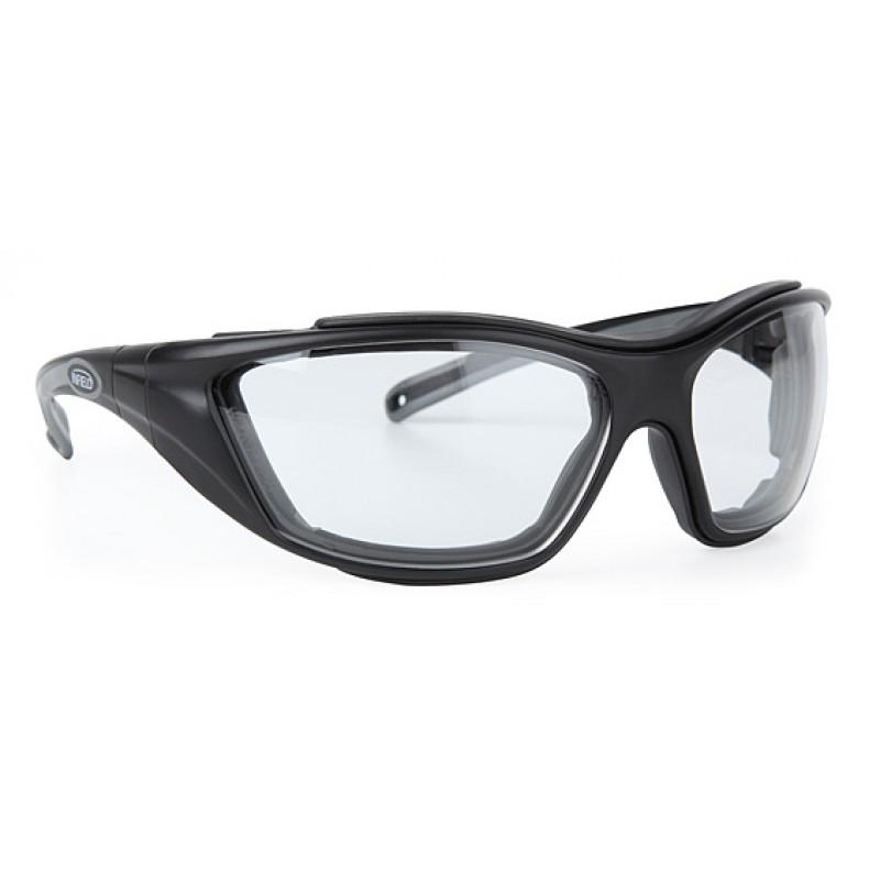 9611 155 Γυαλιά Ασφαλείας Διαφανή Αντιαντιθαμβωτικά COMBOR BLACK PC AF UV