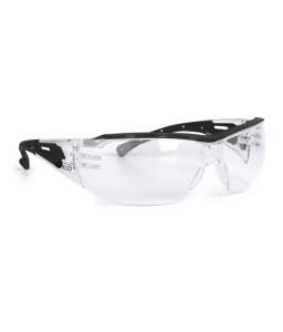 9751 155 Γυαλιά Ασφαλείας Διαφανή Αντιαντιθαμβωτικά VICTOR BLACK PC AF UV