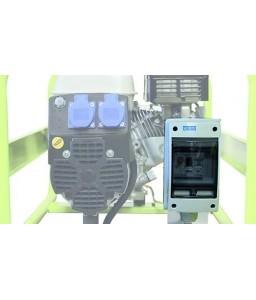 ASD Πίνακας με αντιηλεκτροπληξιακό ( διαφορική προστασία έντασης) 30mA, ασφαλειοδιακόπτη και ωρομετρητή (διαθέσιμο για μοντέλα 230V 1-Φασικό) PRAMAC