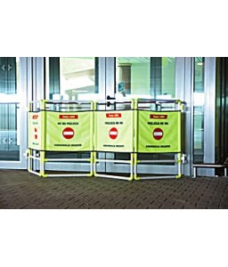 AT 210 Πλαστική Μπαριέρα Ασφαλείας PROTEKT