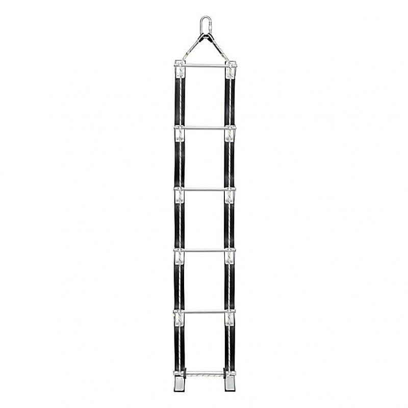 DL 015 Ανεμόσκαλα Σκεπής με σχοινί 8 mm - μήκος 5 m PROTEKT
