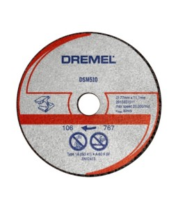 DSM510 - δίσκος κοπής μετάλλου 3τεμ. DREMEL