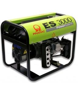 ES3000 Ηλεκτρο - Γεννήτρια Βενζίνης 1-Φασική 2,5 kVA με Χειρόμιζα και χειροκίνητο πίνακα ελέγχου + AVR (αυτόματο ρυθμιστή τάσης) Honda GX160 PRAMAC