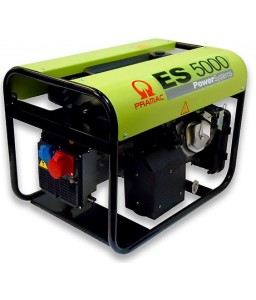 ES5000 Ηλεκτρο - Γεννήτρια Βενζίνης 3-Φασική 5,4 kVA με Χειρόμιζα και χειροκίνητο πίνακα ελέγχου + AVR (αυτόματο ρυθμιστή τάσης) Honda GX270 PRAMAC