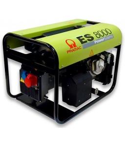 ES8000 Ηλεκτρο - Γεννήτρια Βενζίνης 3-Φασική 7,0 kVA με Χειρόμιζα και χειροκίνητο πίνακα ελέγχου + AVR (αυτόματο ρυθμιστή τάσης) Honda GX390 PRAMAC